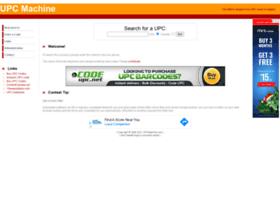 upcmachine.com