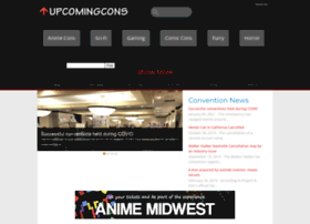 upcomingcons.com