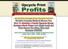 upcycleprintprofits.com