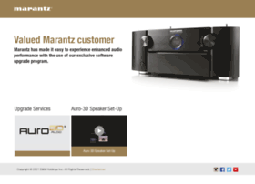upgrade.marantz.com