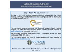 uplandhousing.com