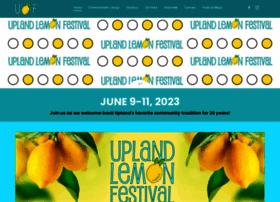 uplandlemonfestival.com