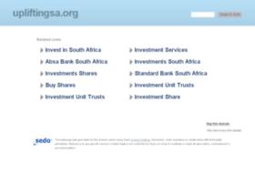 upliftingsa.org