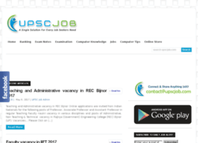 upscjob.com