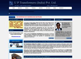 uptransformersindia.com