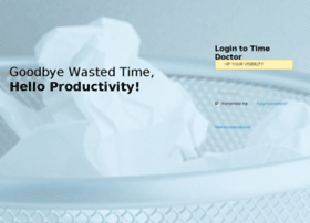 upyourvisibility.timedoctor.com