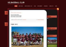 uqbaseball.wordpress.com
