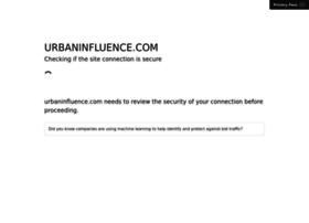 urbaninfluence.com