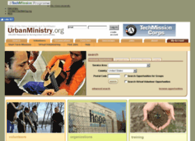 urbanministry.christianvolunteering.org