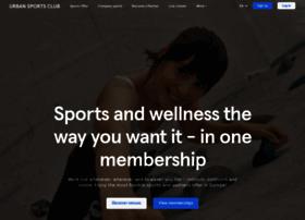 urbansportsclub.com