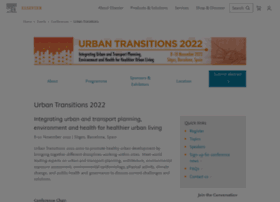 urbantransitionsconference.com