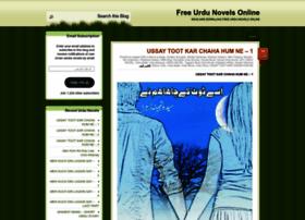 Read urdu novels free websites and posts on read urdu novels free