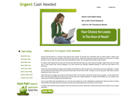 urgentcashneeded.co.uk