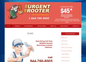 urgentrooter.calls.net
