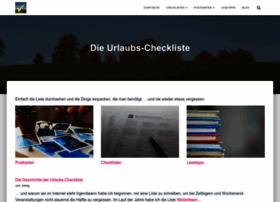 urlaubs-checkliste.de