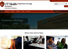 urology.uthscsa.edu