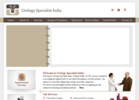 urologyspecialistindia.com