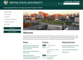 urop.wayne.edu
