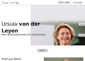 ursula-von-der-leyen.de