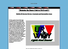urwaylightandsound.com