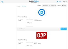 us-political-parties.insidegov.com
