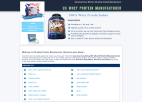 us-whey-protein-manufacturer.com