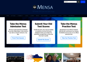 us.mensa.org
