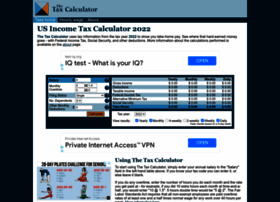 us.thetaxcalculator.net