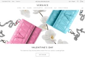 us.versace.com
