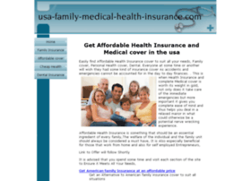 usa-family-medical-health-insurance.com
