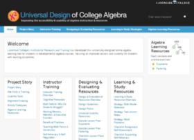 usablealgebra.landmark.edu