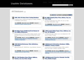 usabledatabases.com