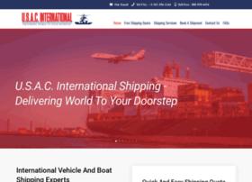 usacinternationalshipping.com