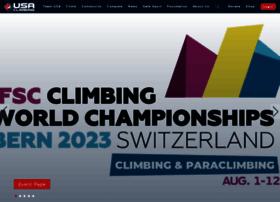 usaclimbing.org
