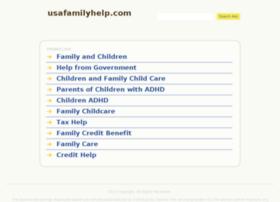 usafamilyhelp.com