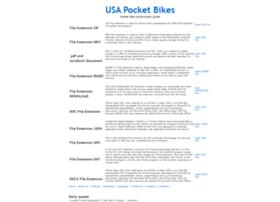 usapocketbikes.com