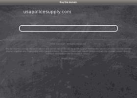 usapolicesupply.com