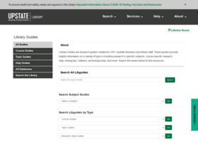 uscupstate.libguides.com
