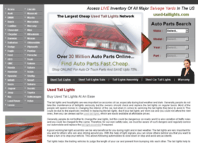 used-taillights.com