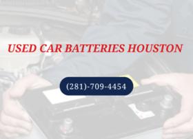 usedcarbatterieshouston.com
