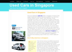 Usedcars.insingaporelocal.com