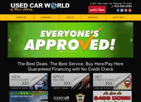 usedcarworldwestpa.com
