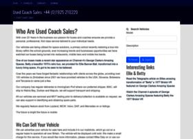 usedcoachsales.co.uk