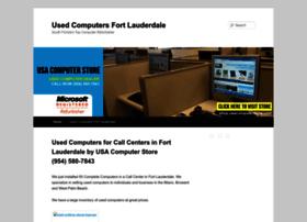 usedcomputersfortlauderdale.com