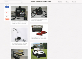 usedelectricgolfcarts.org