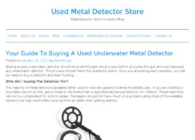 usedmetaldetectorsstore.com