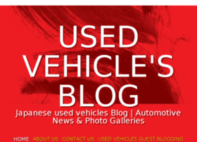 usedvehicles.blog.com