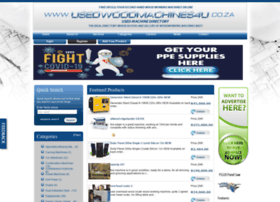 usedwoodmachines4u.co.za