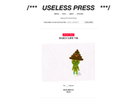 uselesspress.org