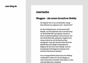 user-blog.de